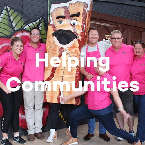 About SunPork - How we help our communities - 100% Australian Pork Supplier