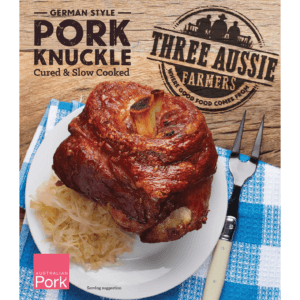 Three Aussie Farmers Slow Cooked German Pork Knuckle