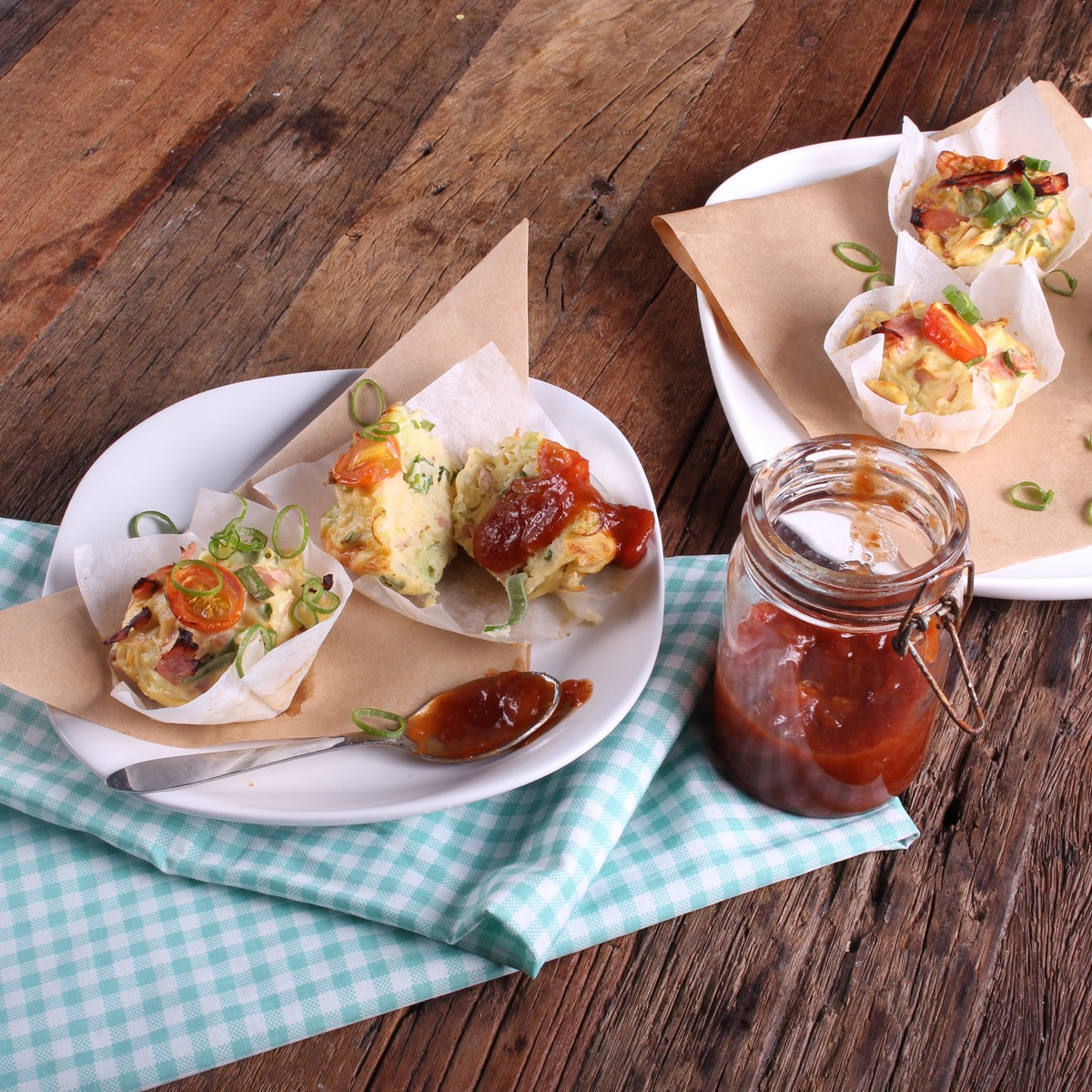Shoulder Ham Breakfast Tarts - Three Aussie Farmers Shoulder Ham