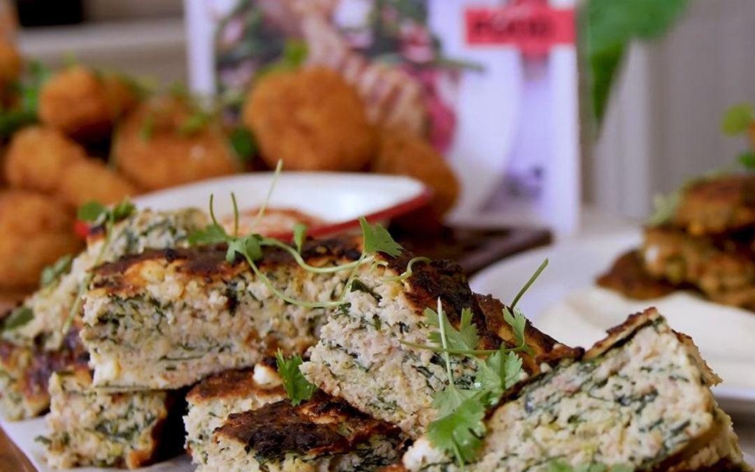 MKR's Dan & Steph: Ham and Zucchini Low Carb Slice