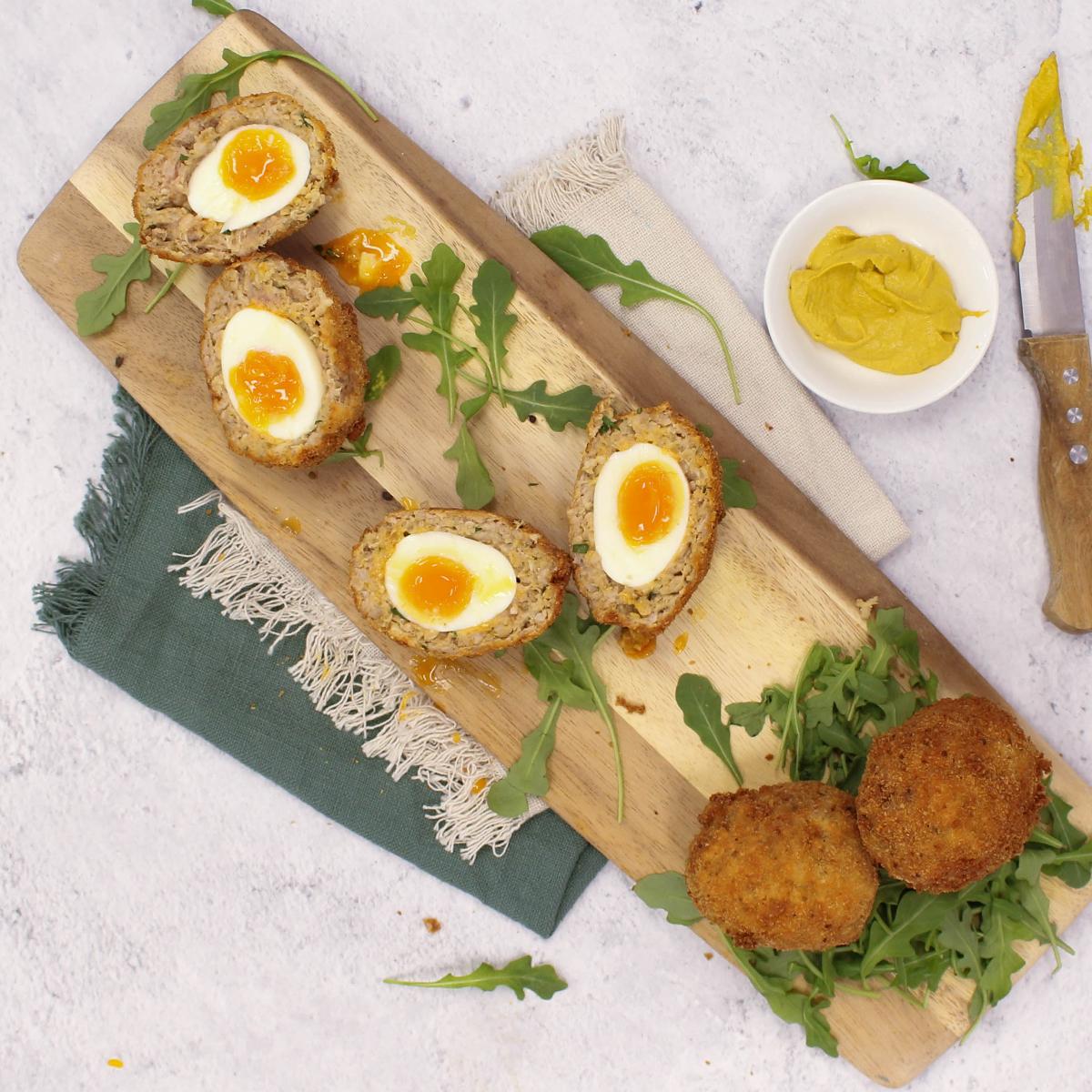 The Best Scotch Eggs Recipe - Pork Sausages