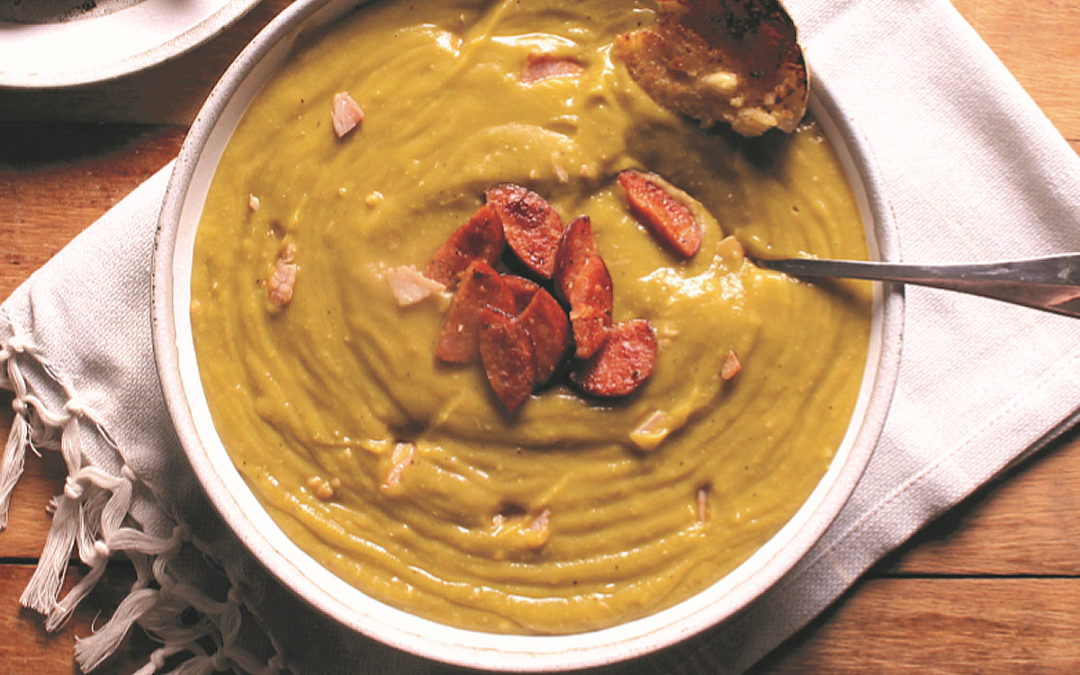 Great Oma's Pea and Ham Soup