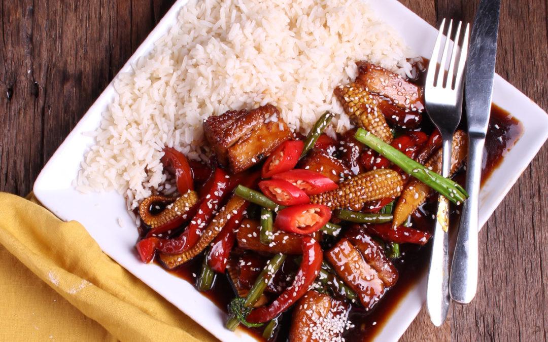 Pork Belly Mongolian Stirfry