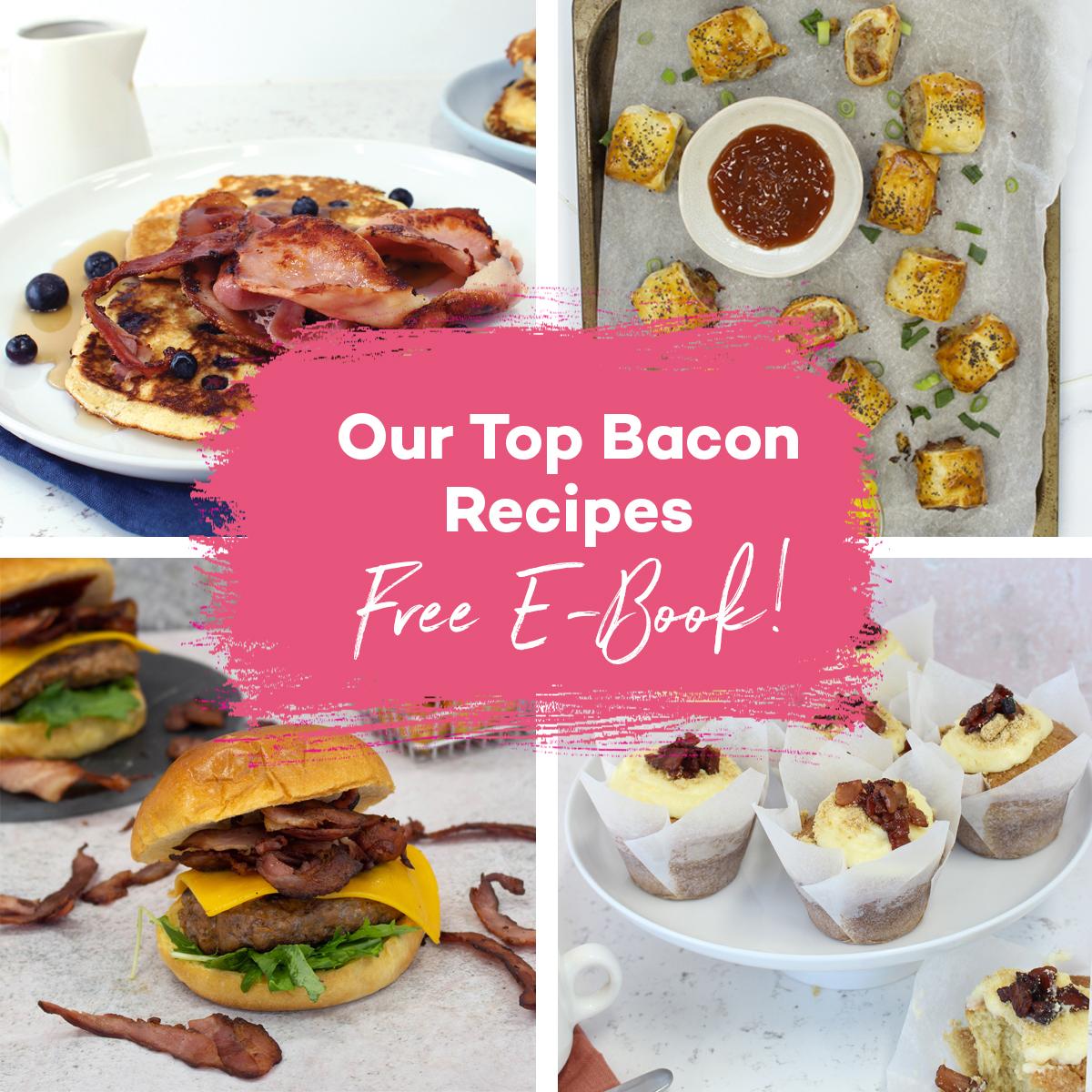 Our top bacon recipes free e-boo