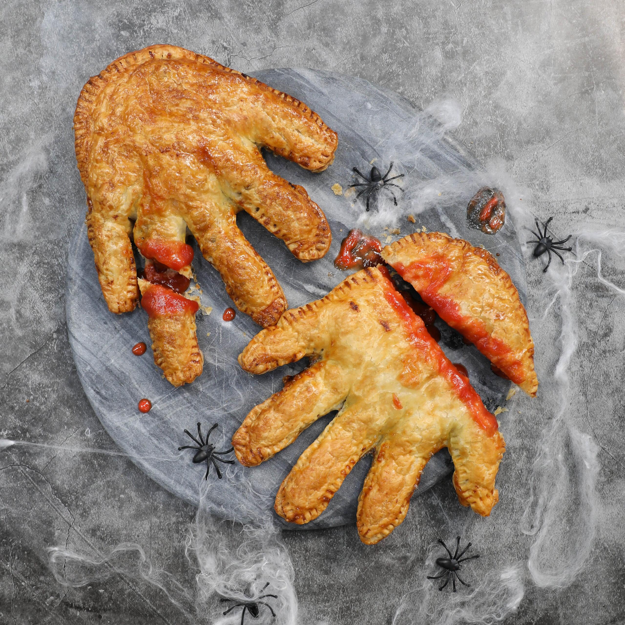Halloween Sausage Roll Hands- Pork Mince