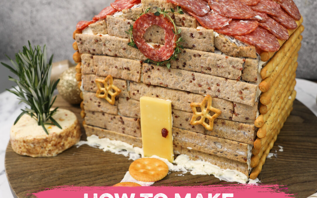 How to make a Charcuterie Chalet this Christmas!