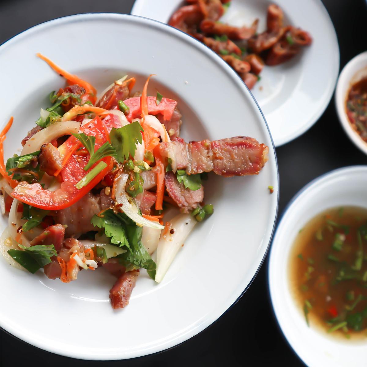 Vietnamese Pork Steak Salad