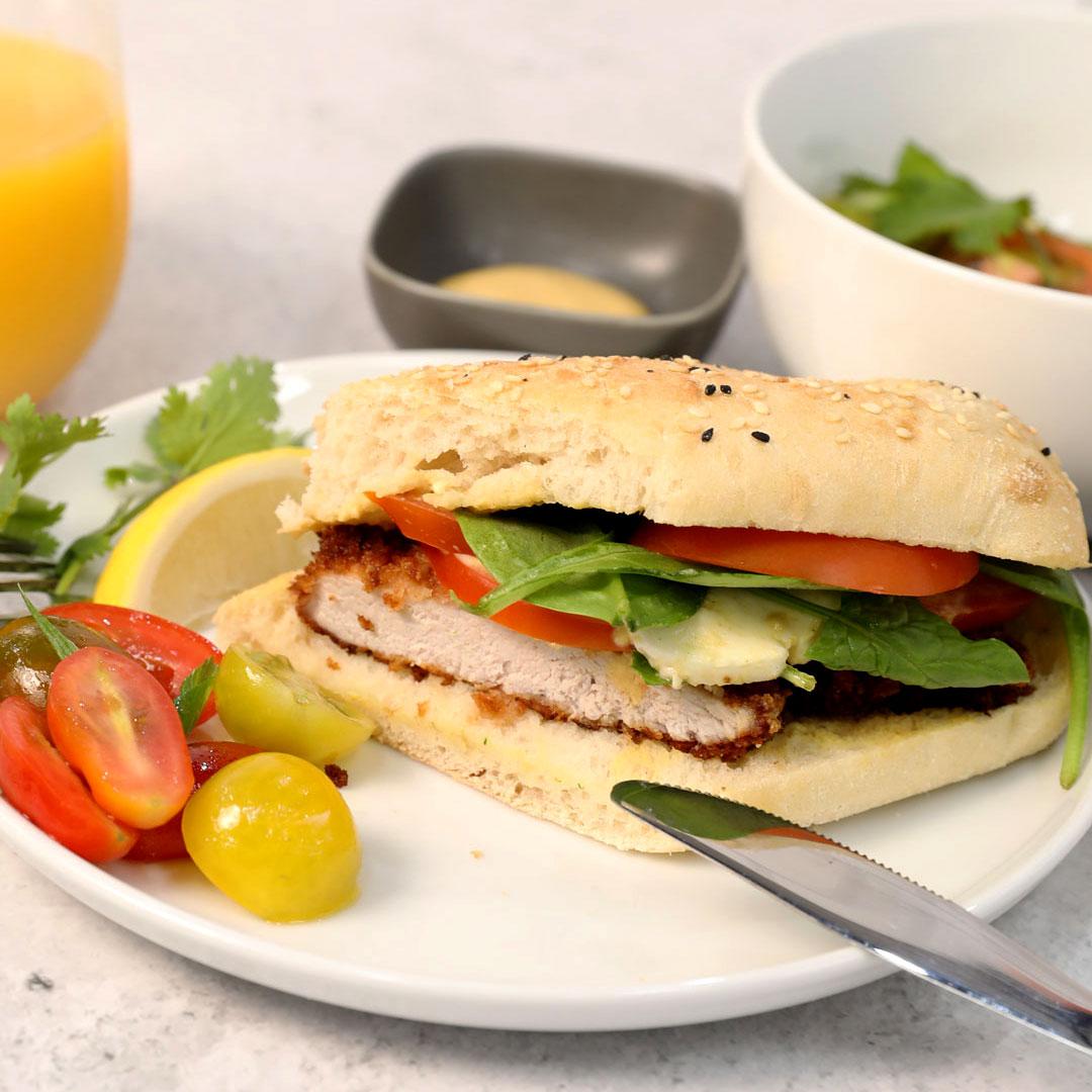 Milanese Pork Sandwich