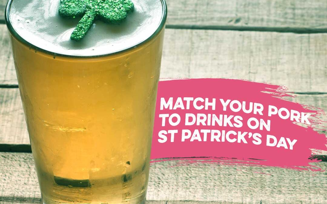 St Patrick's day drinks matching