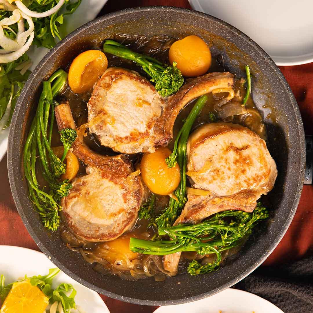 SunPork Fresh Foods Apricot Pork Cutlets