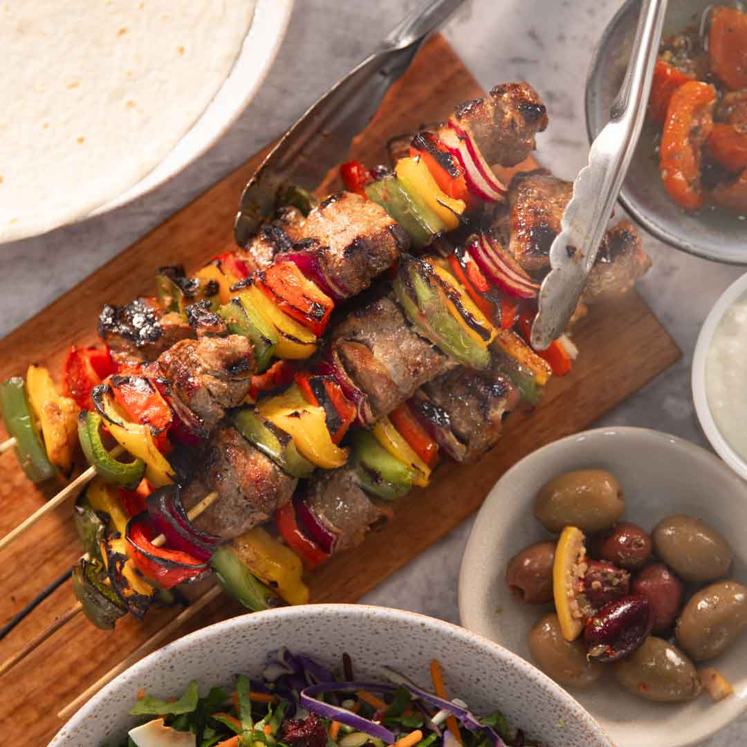 SunPork Fresh Foods - BBQ Persian Pork Shish Kebab