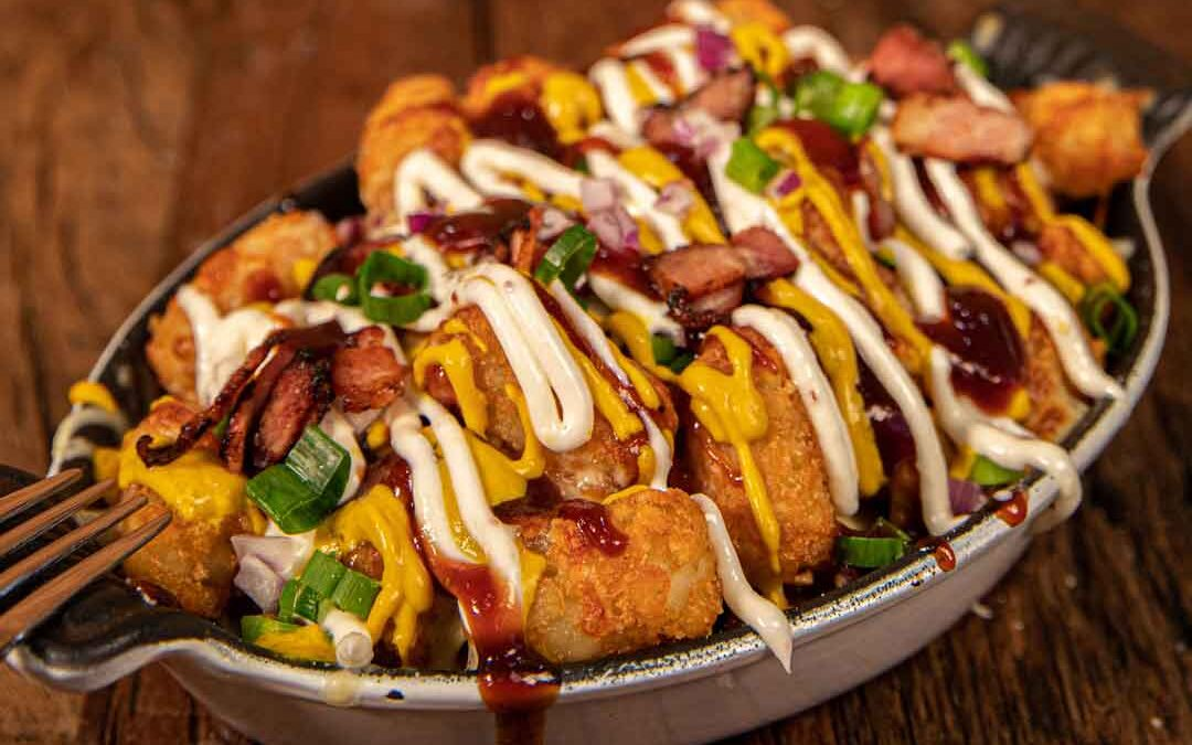 Loaded Potato Gems with Bacon